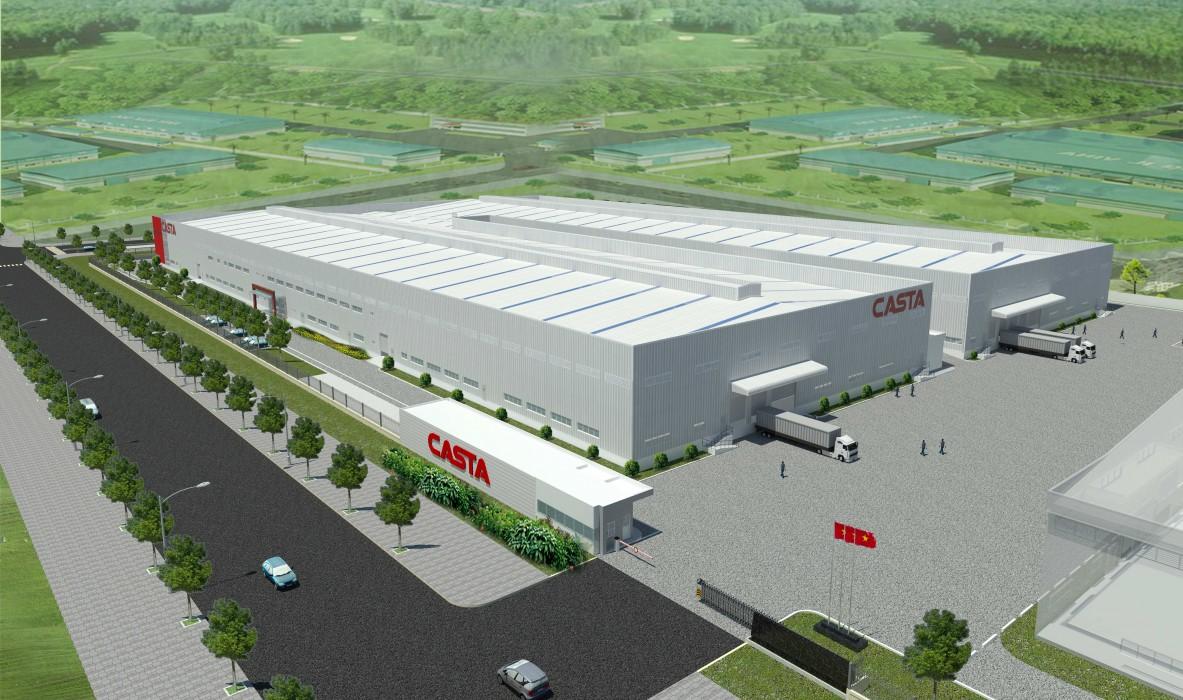 Nhà máy CASTA Long Khánh Đồng Nai